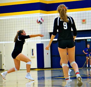 Dodgeville @ Lancaster Volleyball 9-3-19