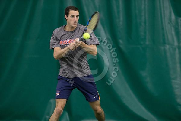 Wheaton College 2018 Men's Tennis- action photos