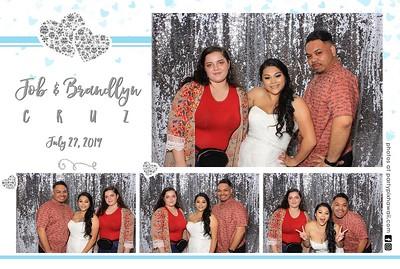 Brandlyn & Job's Wedding (Mini LED Open Air Photo Booth)