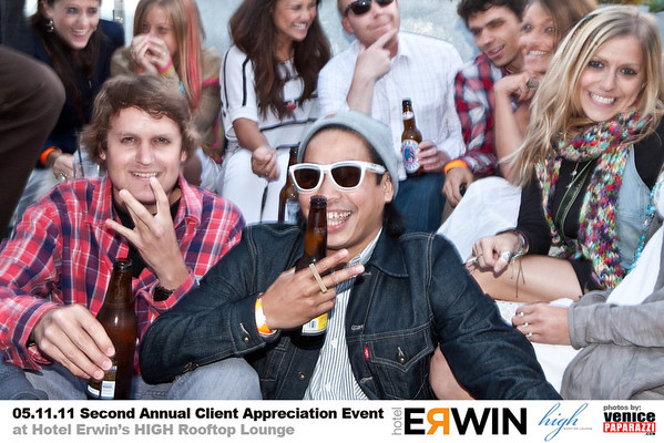 05.11.11 Hotel Erwin's Client Appreciation