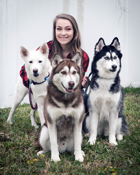 Kendall and Huskies
