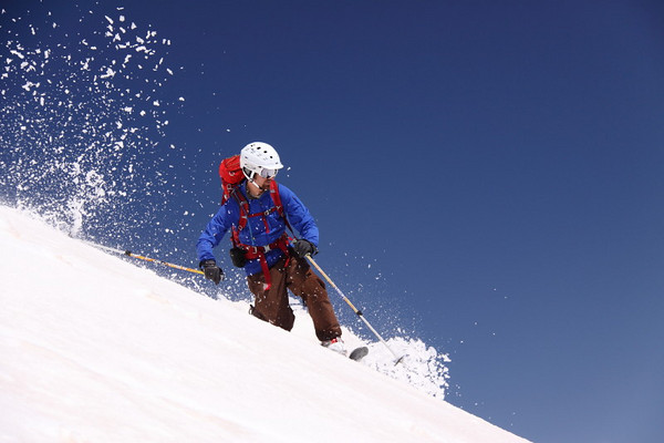 Jasper's East Ridge Skiing 6/4/2009