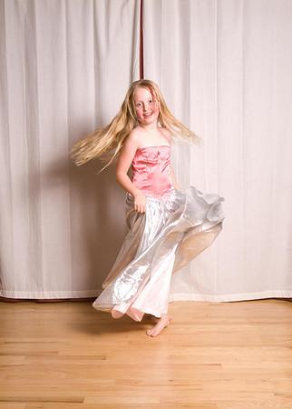 Annika's 8th Birthday Fashion Show