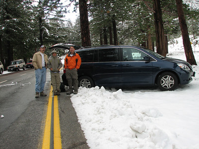 Mt. Baldy in snow - 5/24/08