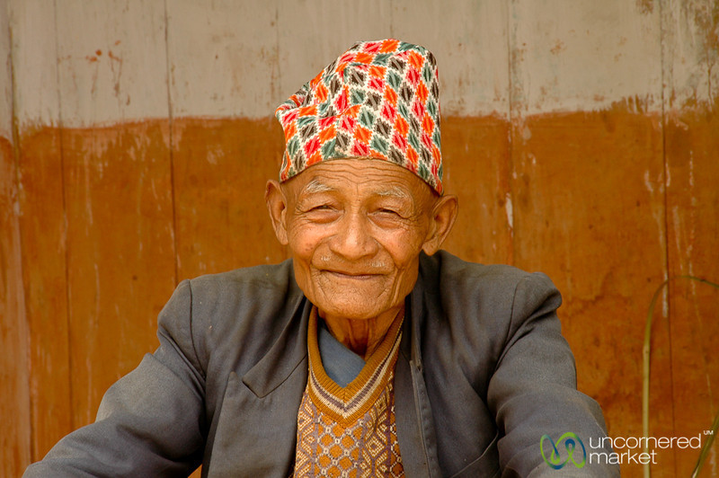 Wise and Smiling - Yuksom, Sikkim