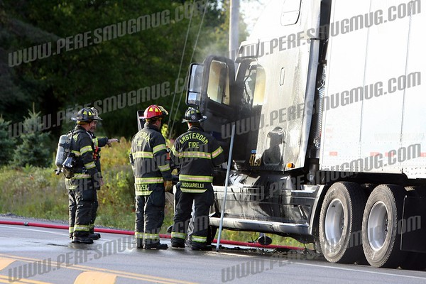 Tractor Trailer Fire, Rt 5S on 9-24-2009