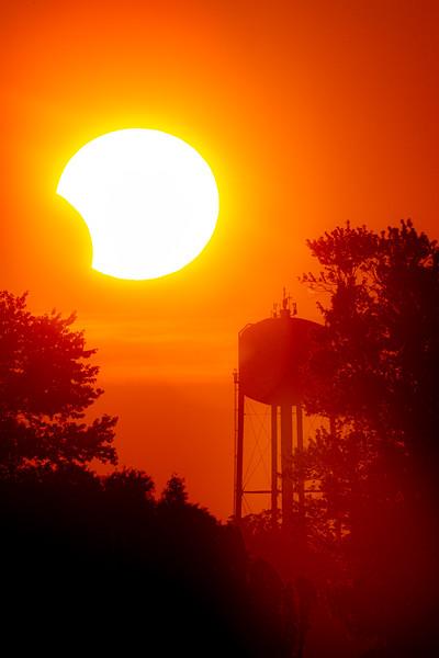 Annular Partial Solar Eclipse