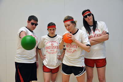 Red Rubber Ball Dodgeball