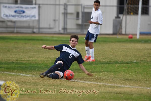 Boys Prep Varsity Soccer 2014