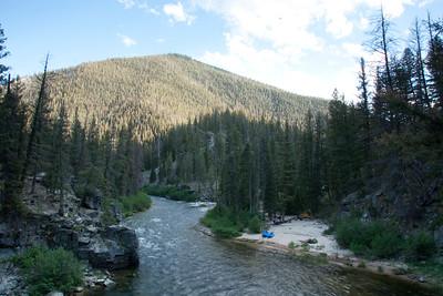 Marsh creek - true middle fork beginning