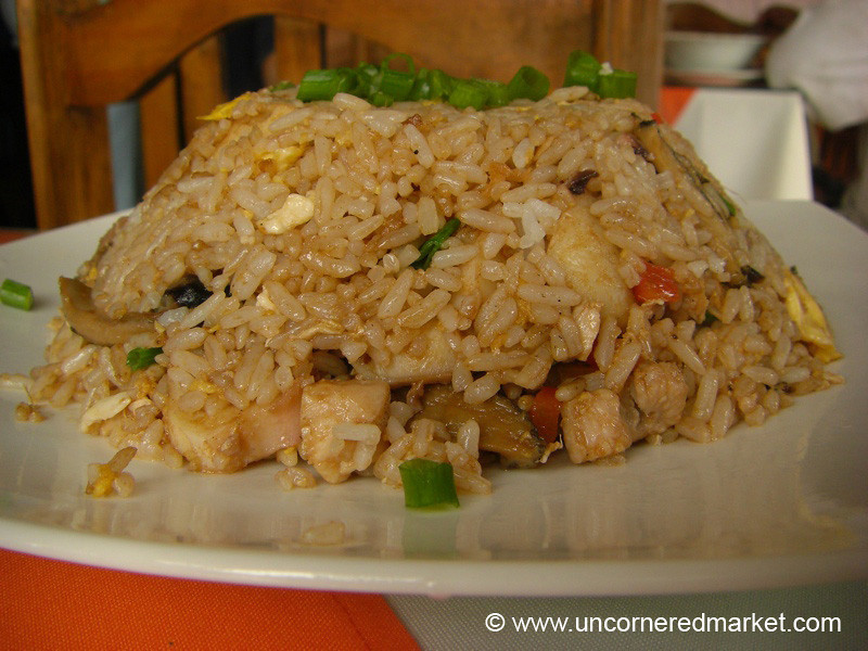 Peruvian Chaufa, Seafood Version - Lima, Peru