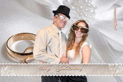 Ashley & Jace's Wedding (Green Screen Party Portraits)