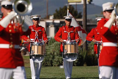 Marine Drum and Bugle Corps and Silent Drill Team