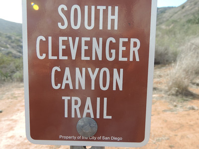 Clevenger Canyon  2-02-2014