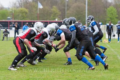 Amsterdam Panthers vs Nijmegen Pirates 2015