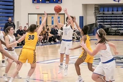 DHS Girls Basketball 01-14-2019