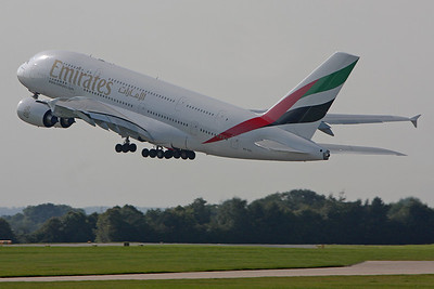 Manchester Airbus 380 day