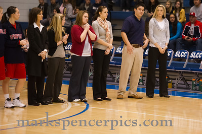 Basketball Girls SHS vs Timpanogos 2-25-2012