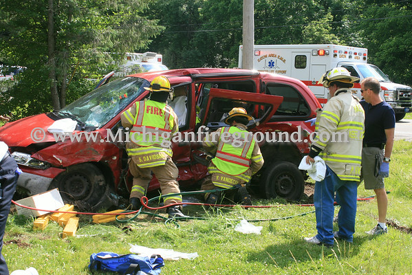 6/26/14 - Mason extrication, Onondaga Rd & Curtice Rd