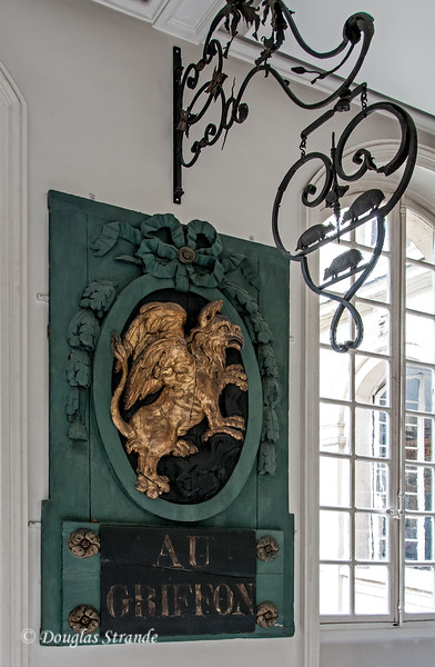 Merchant signs in the Carnavalet Museum
