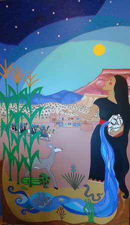 Mother Earth's Blessing by Laura Fragua-Cota