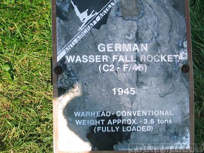 Wasser fall AA rocket