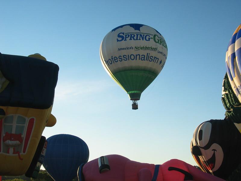 Spring Green Balloon