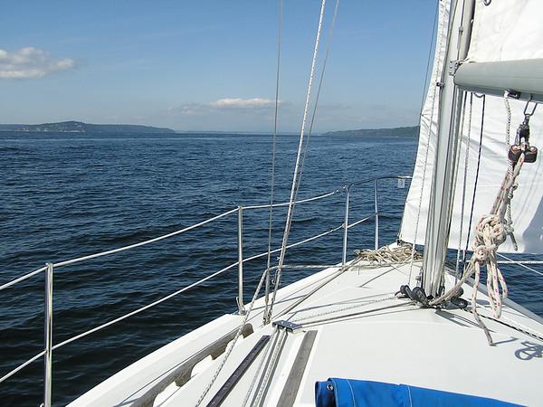 Sailing, Summer of 2007