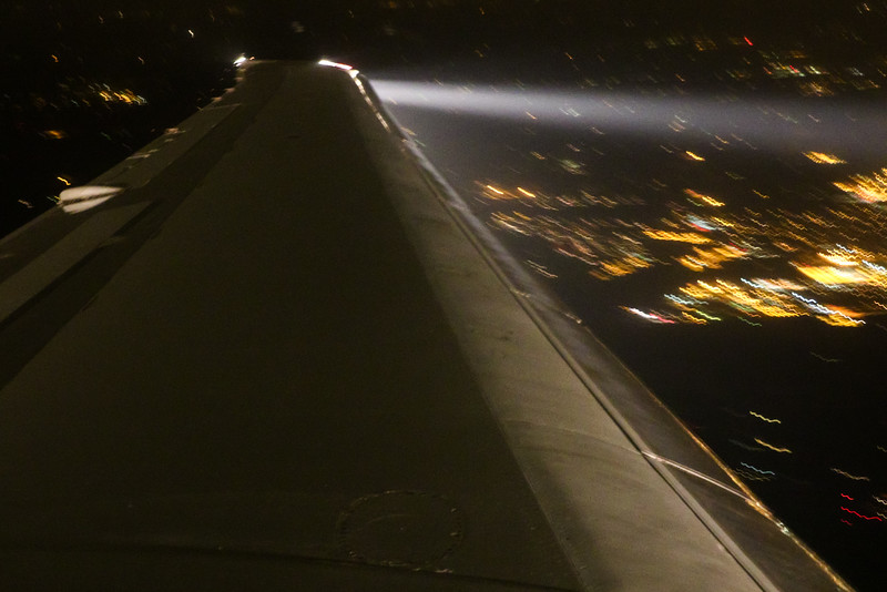 Descending into Milwaukee.