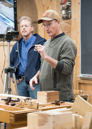 Joinery with Marc Adams Fall 2018