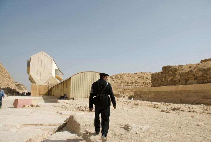 Tourist Cop Who Wanted A Bribe - Giza, Egypt