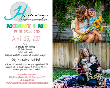{Mommy & Me Mini Sessions 2015}