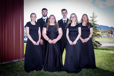 Band and Choir Portraits 2021