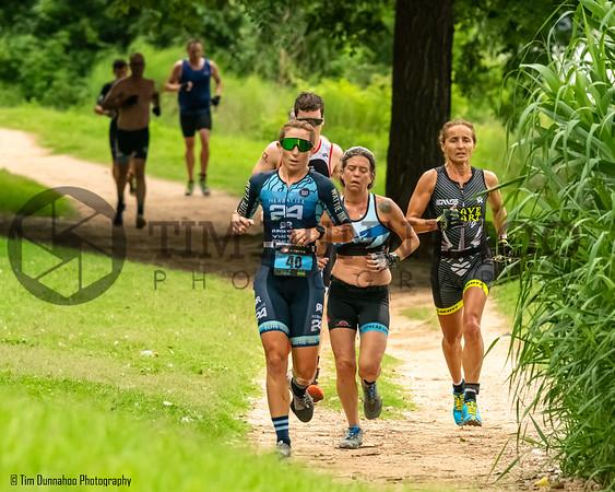 Triathlon Start & Pre-Bike Run