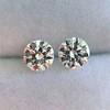 2.27ctw Transitional Cut Diamond Pair, GIA H VS2 1