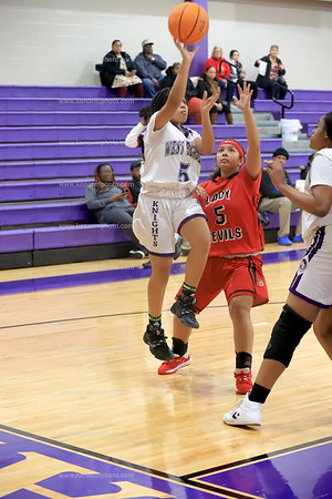 West Bladen 2020 Red Springs jv girls basketball