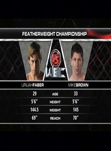 Mike Brown defeats Urijah Faber