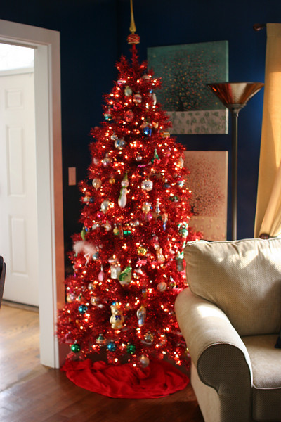 Chapman's Living room tree