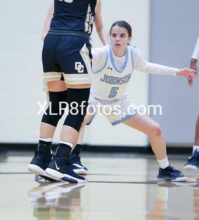 Johnson vs OConner Girls Basketball 111119