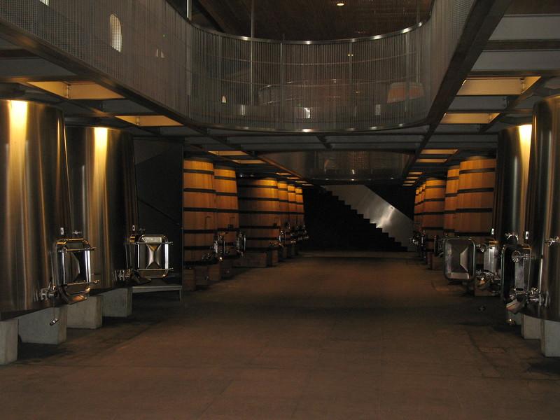 St-Emilion wine casks - Mimi Nenno
