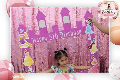 Rianna's 5th Birthday - April 10, 2021