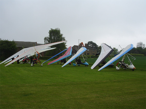Trikes at Pitsford