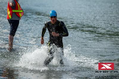 2019 Xterra Canmore Full Swim 1st lap