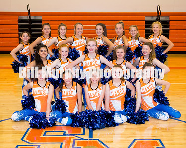2017 - 2018 South Marshall Middle Dance Team
