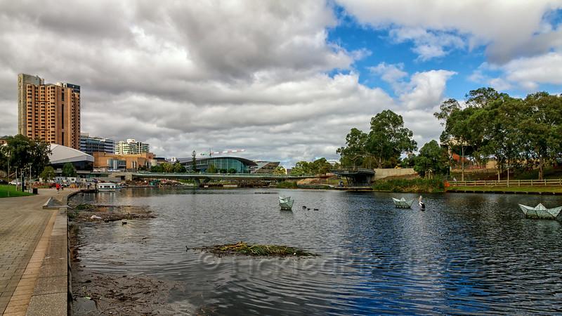 River Torrens at Elder Park