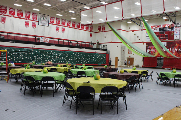 THS Homecoming Set-Up 2013