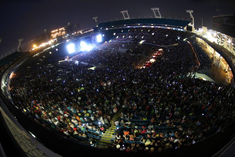 Fans and Venue