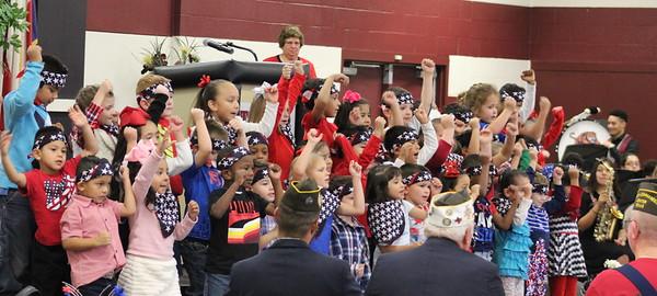 Tenaha ISD students host 2019 Veterans Day program