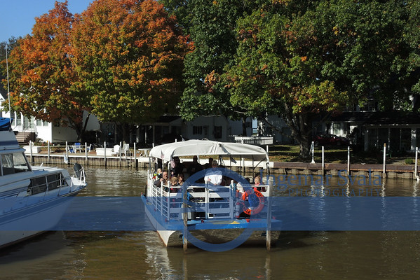 """October 23, 2016, The Mystic Belle does """"Trick or Treat"""" and  Competition-small sailboats by VBC."""