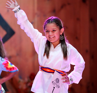 Little Miss Cherokee pageant, October 9